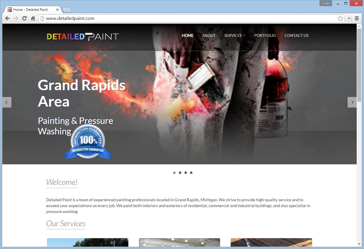 detailed paint website
