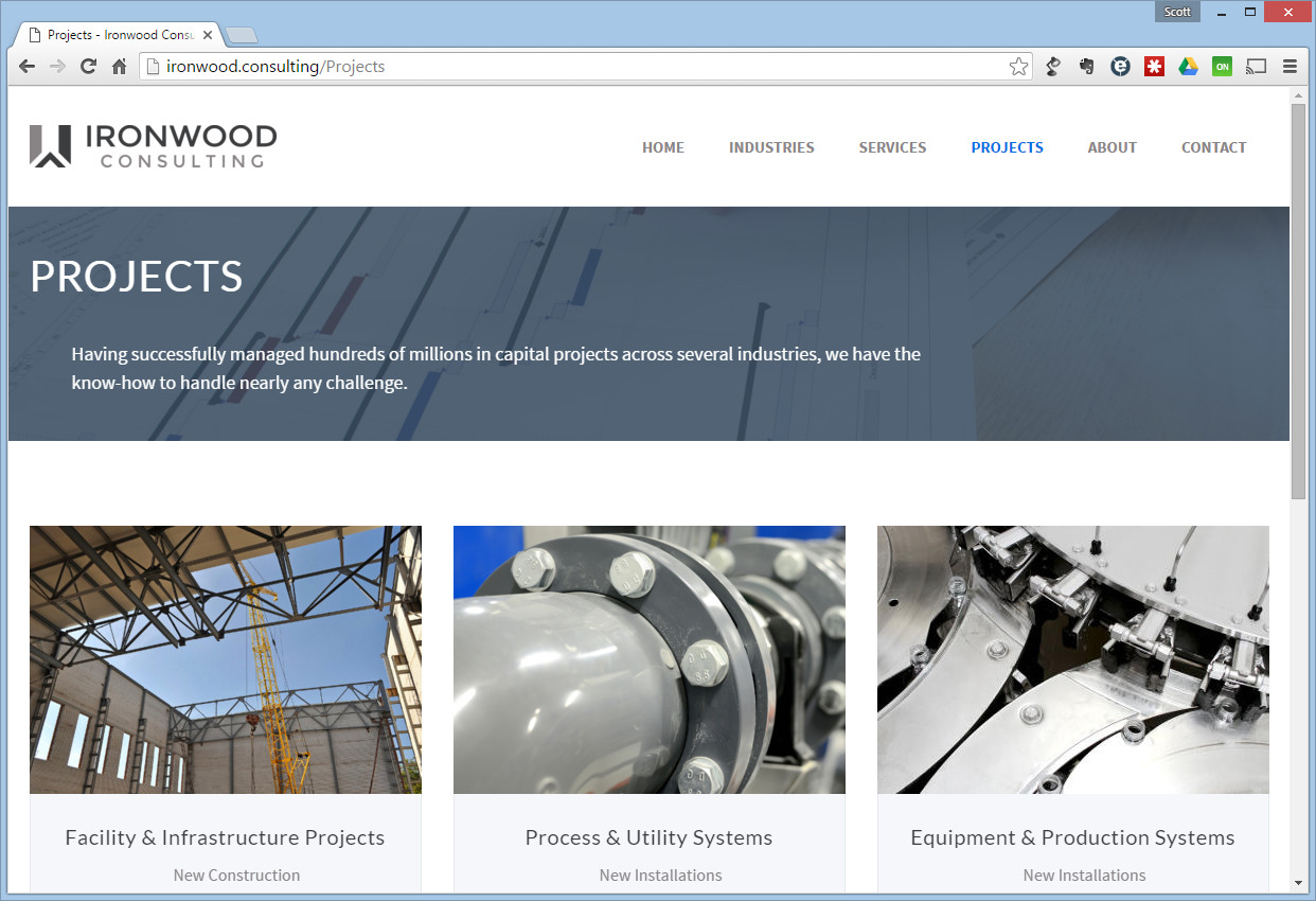 ironwood consulting website